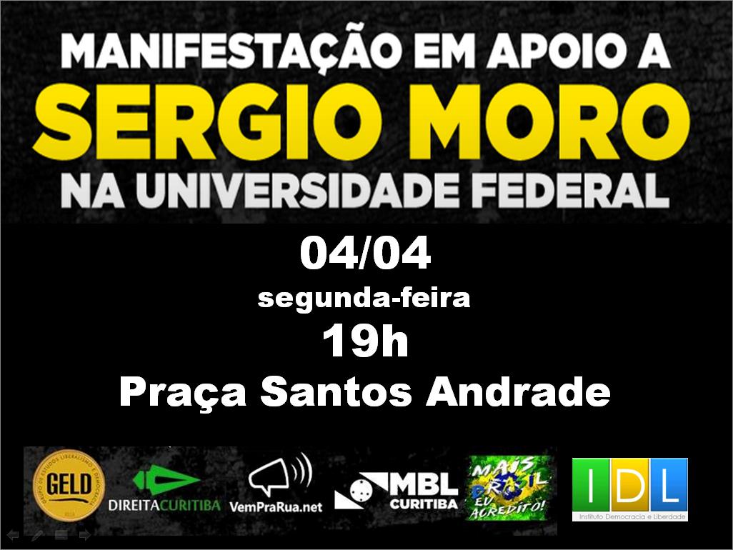 EVENTO SERGIO MORO