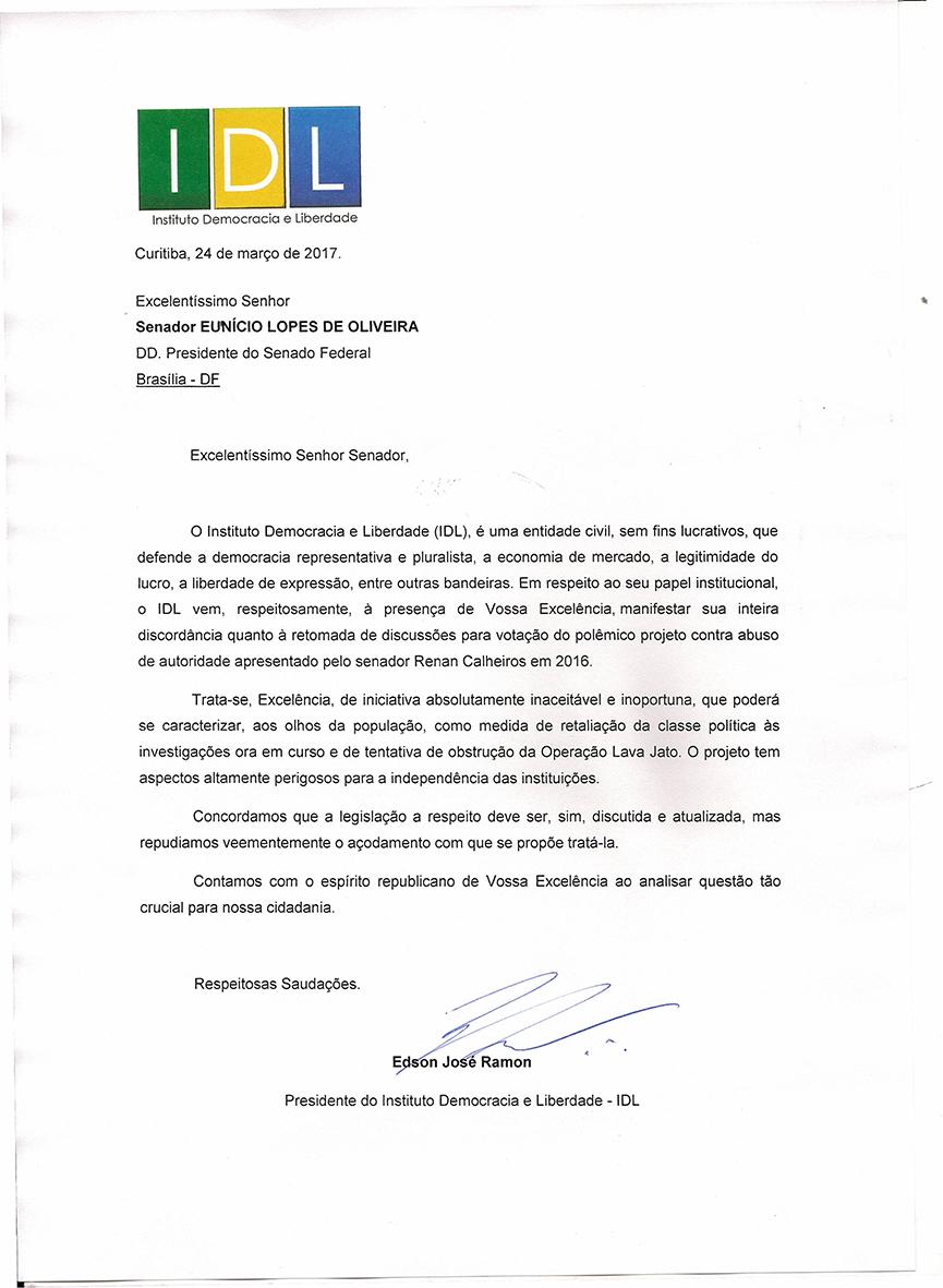 CARTA SENADOR EUNICIO OLIVEIRA0001