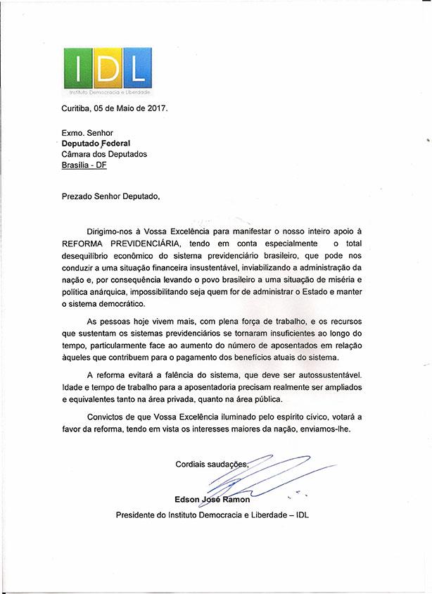 CARTA DEPUTADOS FEDERAIS0001