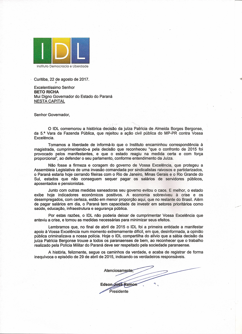 CARTA IDL AO GOVERNADOR 22_08_20170001