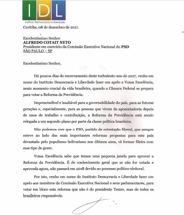 Carta PSDB