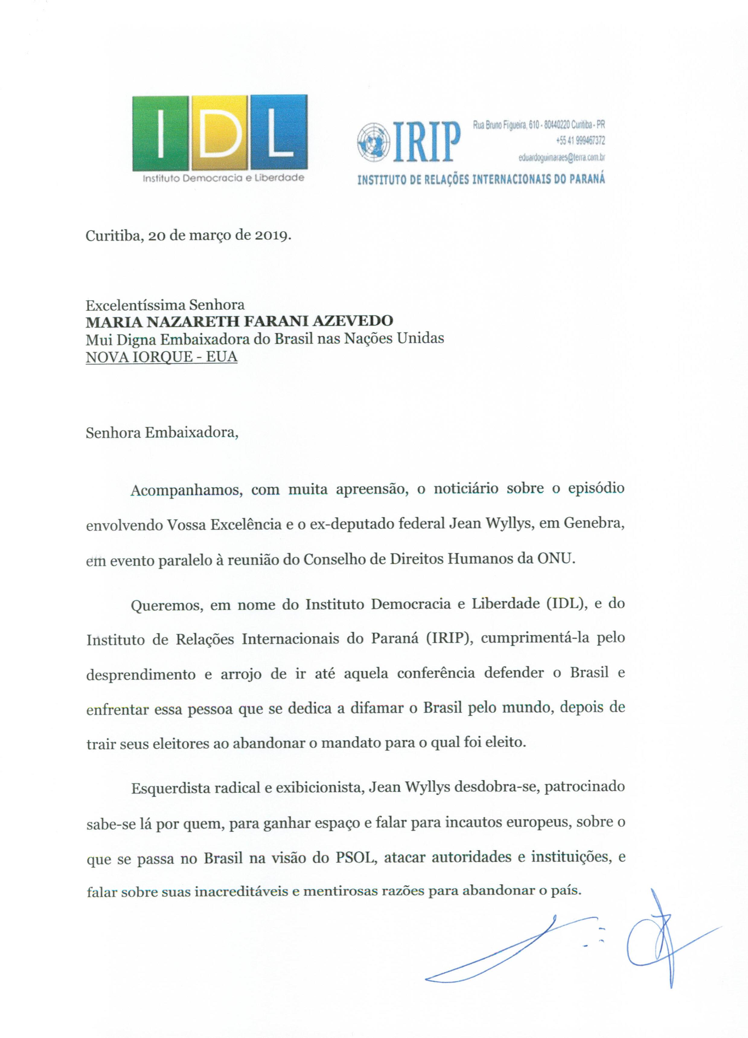 CARTA EMBAIXADORA DO BRASIL NAS NAÇÕES UNIDAS-1