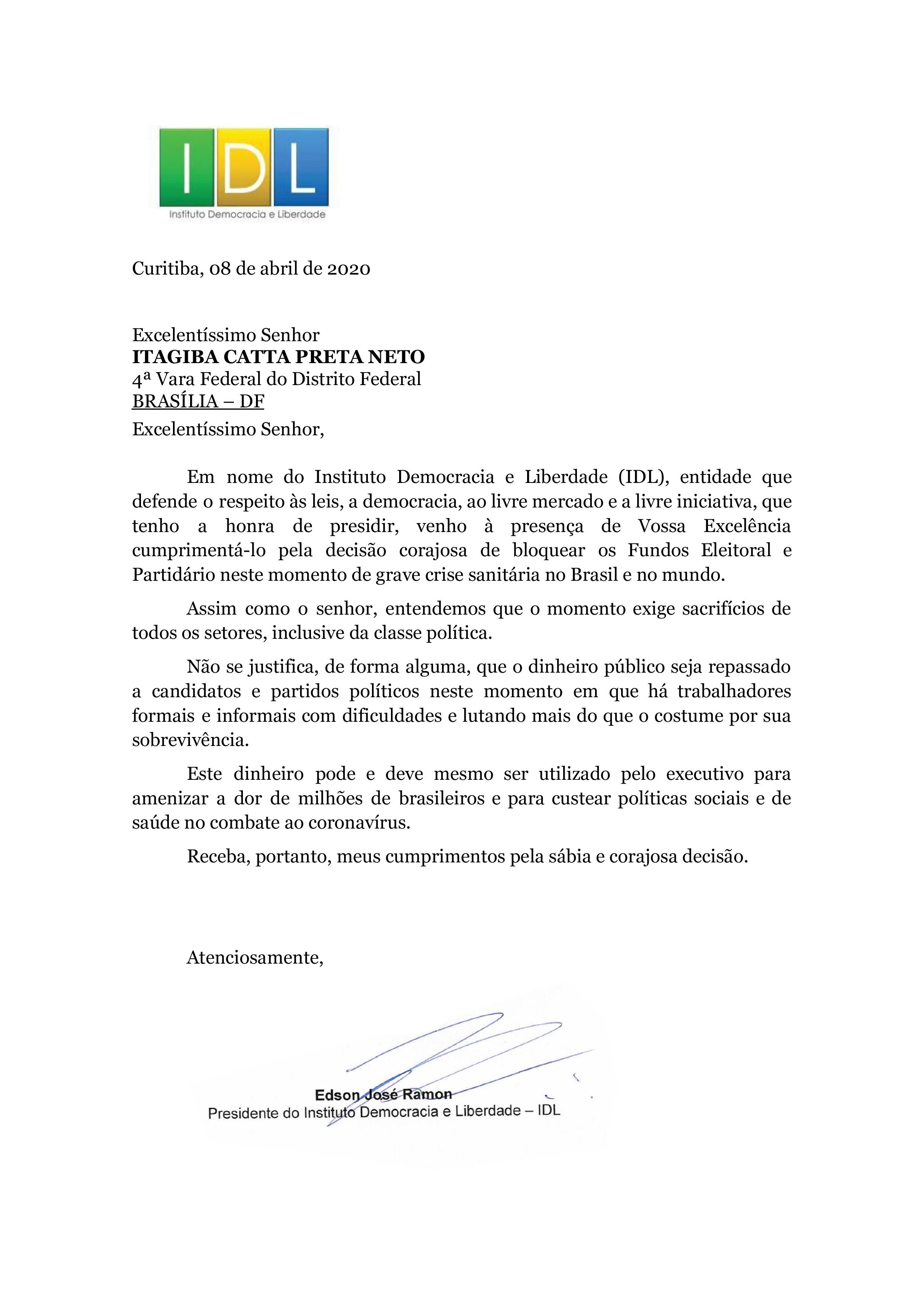 Carta ao juiz Catta Preta (1)